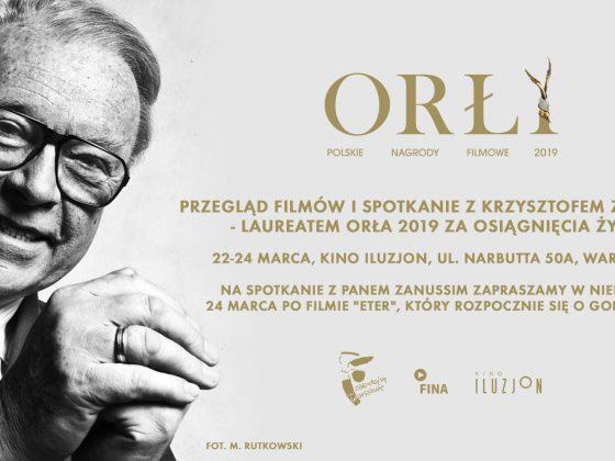 Przegląd filmów laureata Orła 2019 za osiągnięcia życia – Krzysztofa Zanussiego, fot. M. Rutkowski (źródło: materiały prasowe)