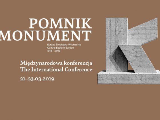 Międzynarodowa Konferencja Naukowa, Pomniki Europy Środkowo-Wschodniej 1918–2018 (źródło: materiały prasowe)
