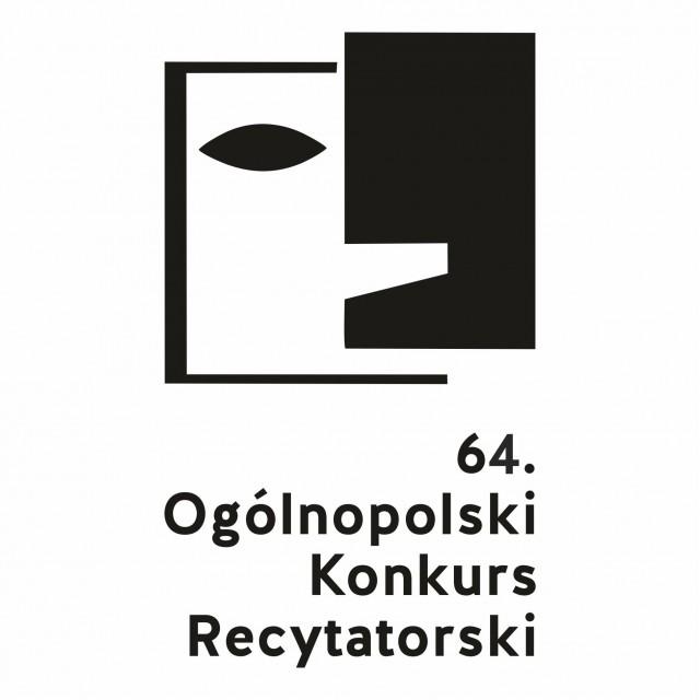 Logo 64. Ogólnopolskiego Konkursu Recytatorskiego (źródło: materiały prasowe)