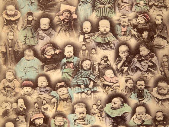 Autor nieznany, Dzieci, Japonia, ok. 1880 (źródło: materiały prasowe)