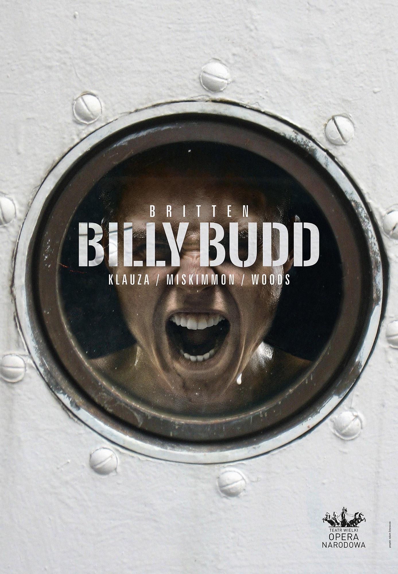 Plakat opery Billy Budd Benjamna Brittena (źródło: materiały prasowe)