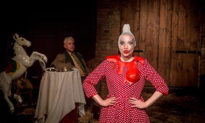 """Teatr Usta Usta Republika """"Geometria"""", fot. Andrzej Majos (źródło: materiały prasowe)"""