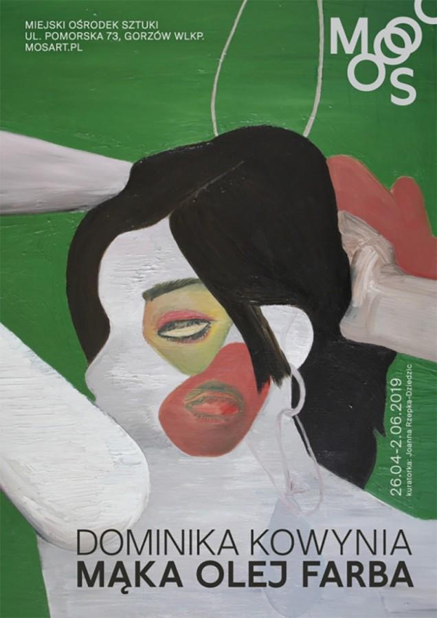 Wystawa Dominiki Kowyni – Mąka Olej Farba w Miejskim Ośrodku Sztuki w Gorzowie Wielkopolskim (źródło: materiały prasowe)