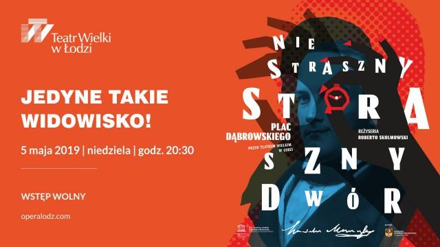 Niestraszny Straszny – Dwór koncert w reżyserii Roberto Skolmowskiego (źródło: materiały prasowe)