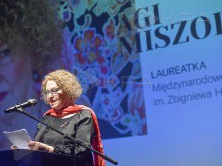 Agi Miszol, Międzynarodowa Nagroda Literacka im. Z. Herberta 2019 (źródło: materiały prasowe)