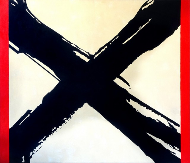 Janusz Lipiński, z cyklu Templum, Crux, Thanatos (źródło: materiały prasowe)