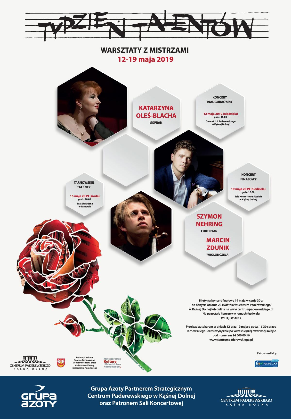 Warsztaty z Mistrzami – Tydzień Talentów (źródło: materiały prasowe)