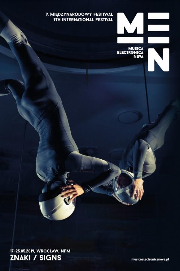 Plakat 9. edycji festiwalu Musica Electronica Nova (17–25 maja 2019 r.) (źródło: materiały prasowe)