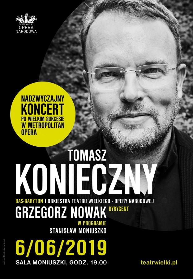 Tomasz Konieczny Preludium premierowe: Moniuszki Śpiewnik Symfoniczny (źródło: materiały prasowe)