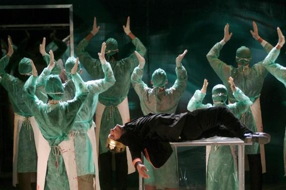 Ryszard III Węgierskiego Teatru w Cluj, koprodukcja Gyulai Várshínház, fot. Ilovszky Béla, Rudolf István