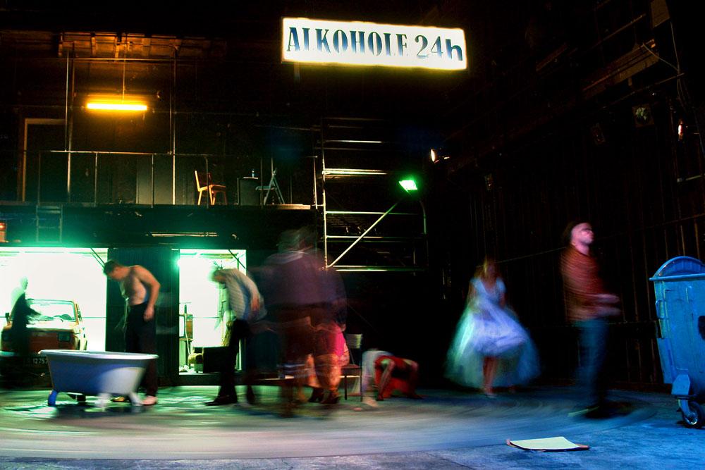 """Pijacy"", fot. Ryszard Kornecki"