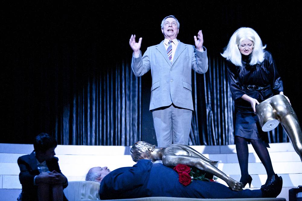 Wałbrzych, Teatr Dramatyczny, spektakl pt. Dynastia reż. Natalia Korczakowska, fot. Bartlomiej Sowa