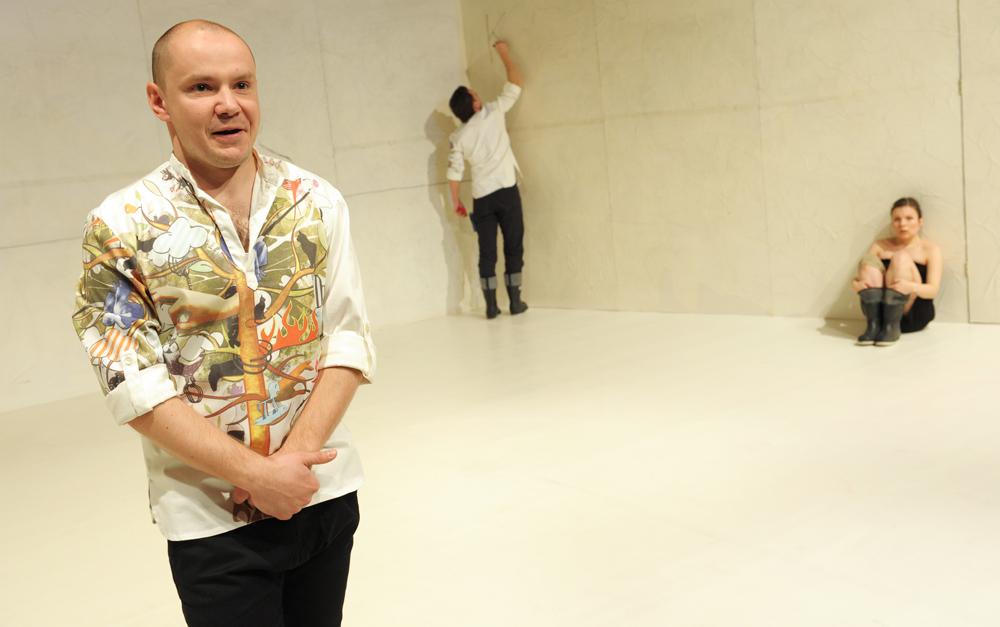 Boska Komedia 2010, na zdjęciu G. Gromek, G. Sowa, M. Gauer