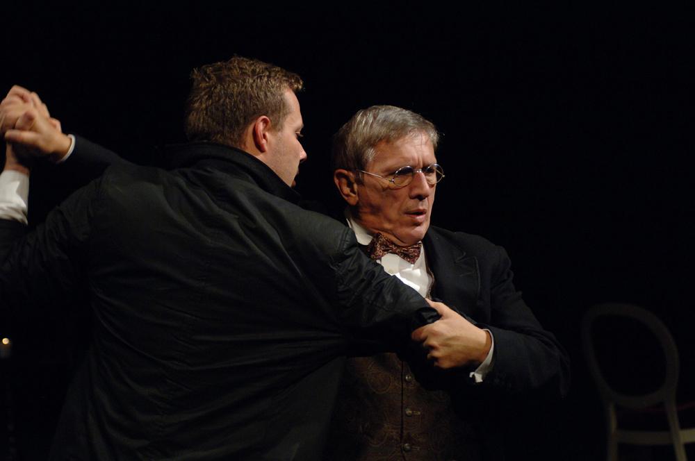 Boska Komedia 2010, na zdjęciu G. Malecki i J. Englert