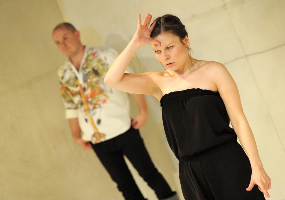 Boska Komedia 2010, na zdjęciu Grzegorz Gromek i Milena Gauer