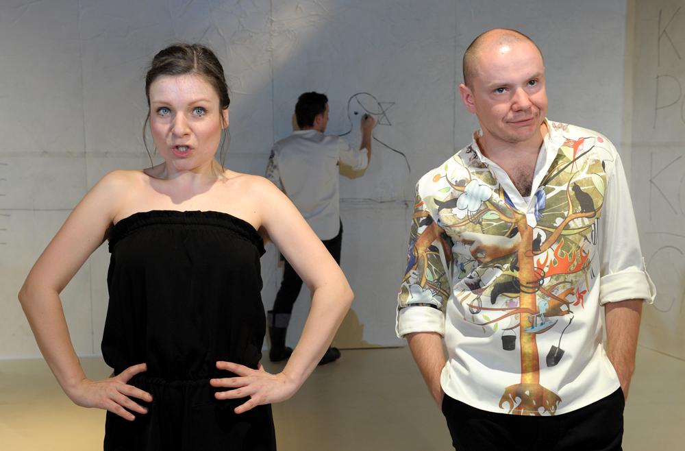 Boska Komedia 2010, M. Gauer, G. Gromek