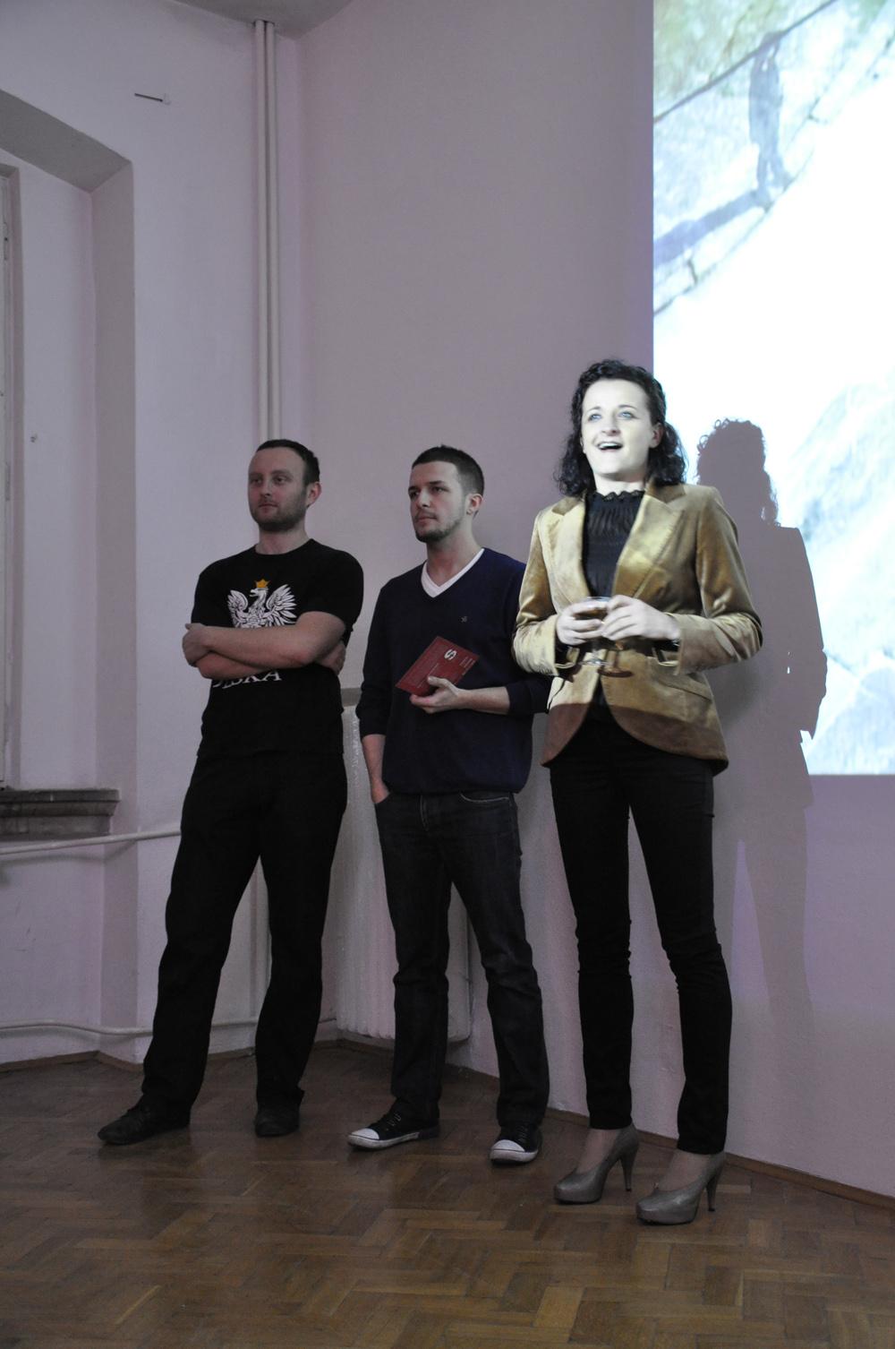 Wernisaż: M. Bieniek, K. Bieniek i P. Kmita