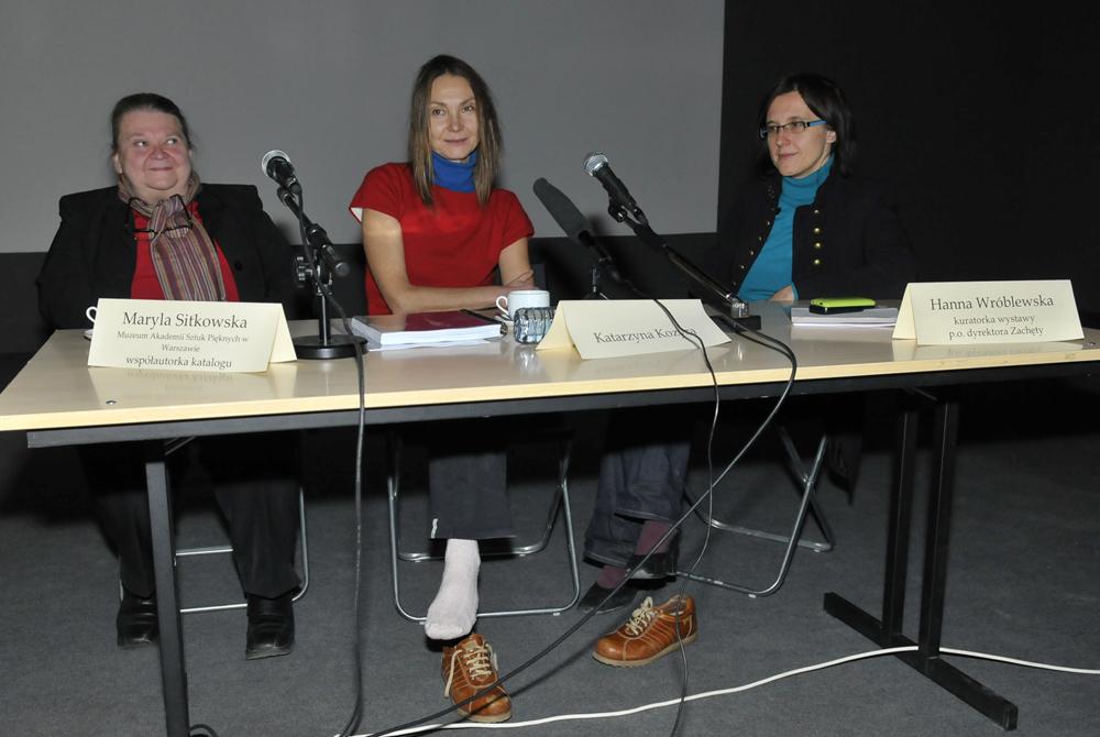 Katarzyna Kozyra, Casting, Wernisaż w Zachęcie