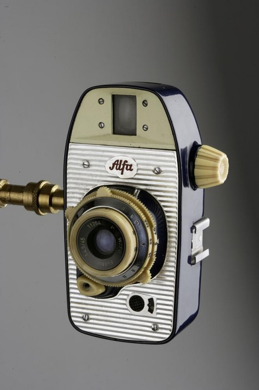 Krzysztof Meisner, Olgierd Rutkowski, Zakłady Artystyczno-Badawcze ASP w Warszawie, aparat fotograficzny Alfa, 1959, Wzr.v.226 MNW
