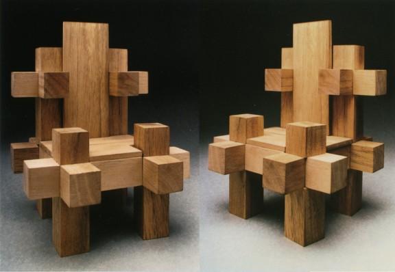 Chair throne for Mondrian