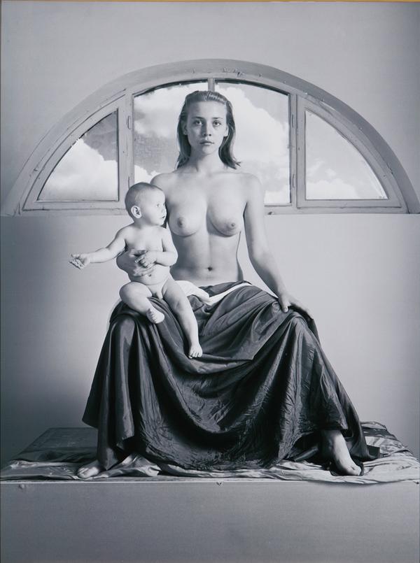 Katarzyna Górna, Z cyklu madonny, 1996, dzięki uprzejmości artysty