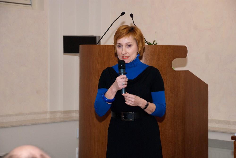 Dr Monika Rydiger – kuratorka wystawy, fot. Zofia Waligóra