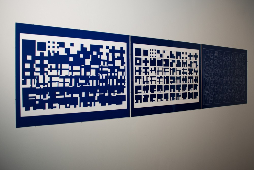 Tadeusz Mysłowski, Manhattan Grid, 1995, fot. Zofia Waligóra