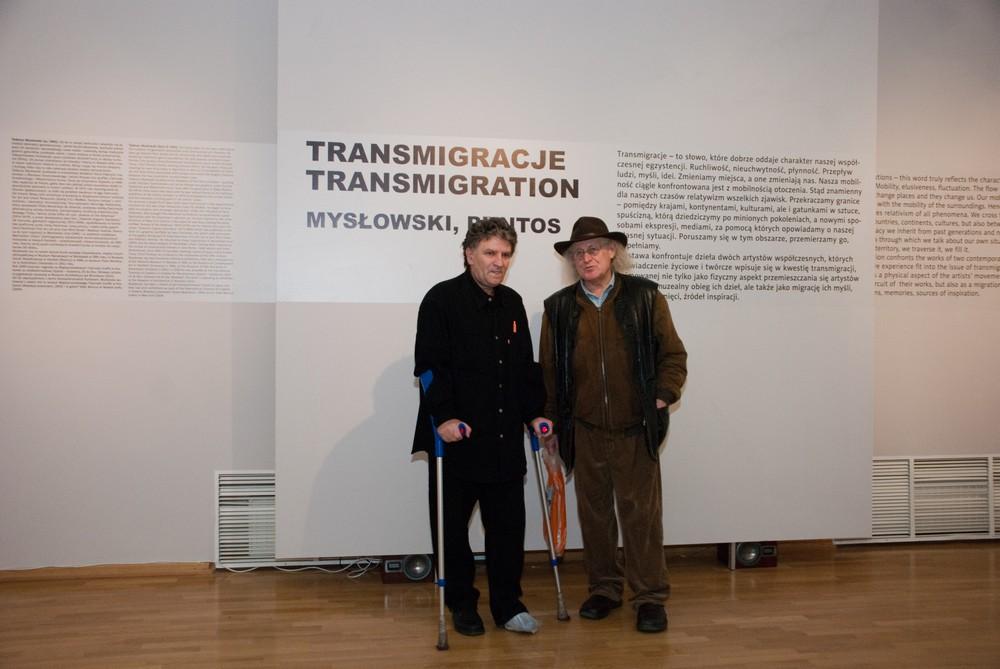 Jani Konstantinovski Puntos oraz Tadeusz Mysłowski, fot. Zofia Waligóra