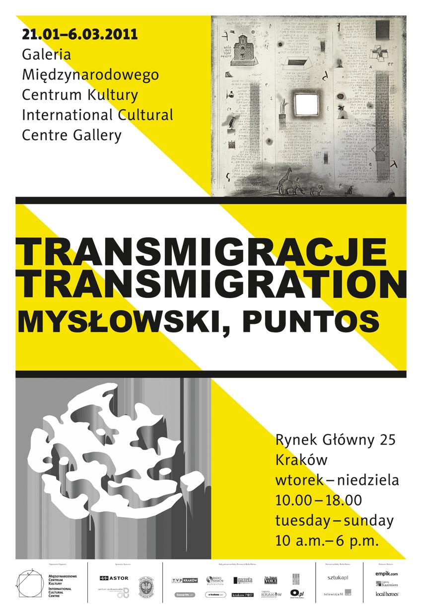 Transmigracje, plakat