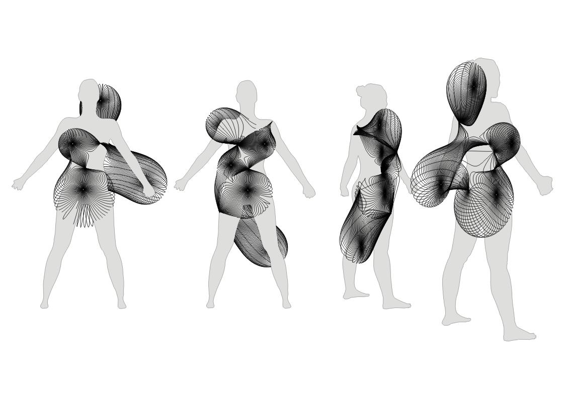 Acconci Studio (Vito Acconci, Ezio Blasetti), MAGNETIC-FIELD CLOTHING, 2008