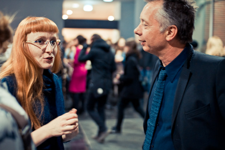 Agnieszka Pindera i Martin van Dijk, fot. Ernest Wińczyk, CSW Znaki Czasu w Toruniu