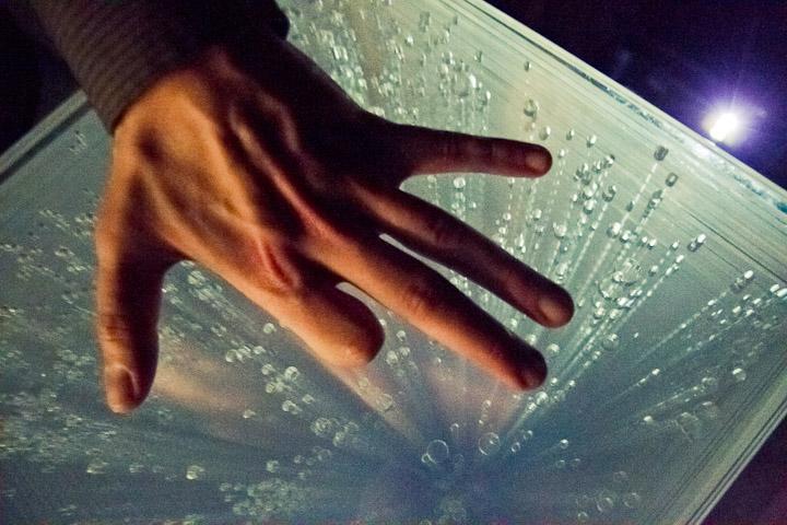 """""""Future times"""", Christophera O'Leary&Casey Alt, fot. Ernest Wińczyk, CSW Znaki Czasu w Toruniu"""