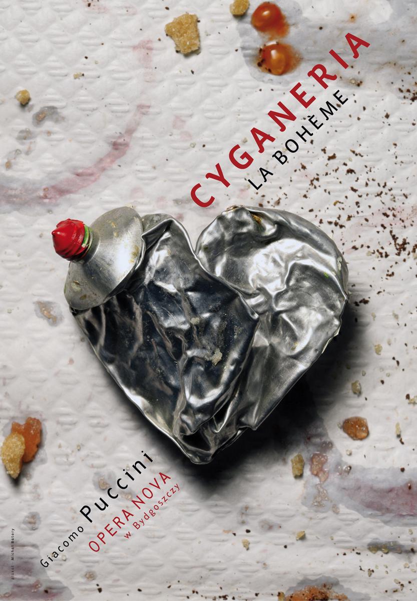 Cyganeria, autor plakatu: Michał Batory