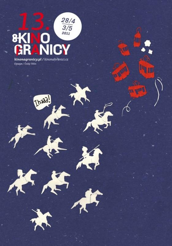 Kino na Granicy, plakat