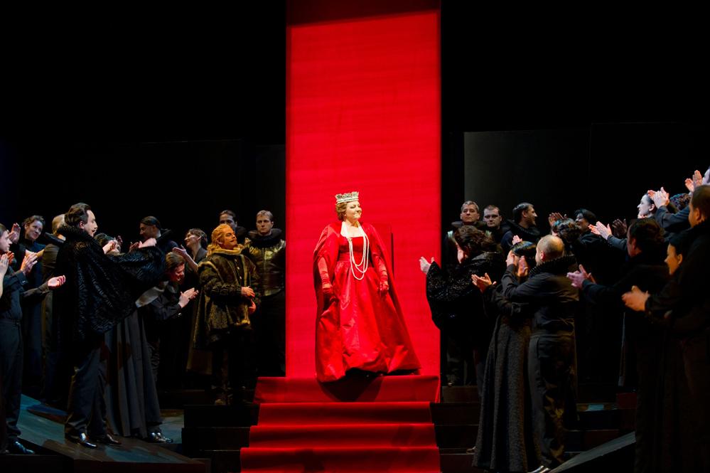 Maria Stuarda, Teatr Wielki z Poznania, fot. K. Zalewska