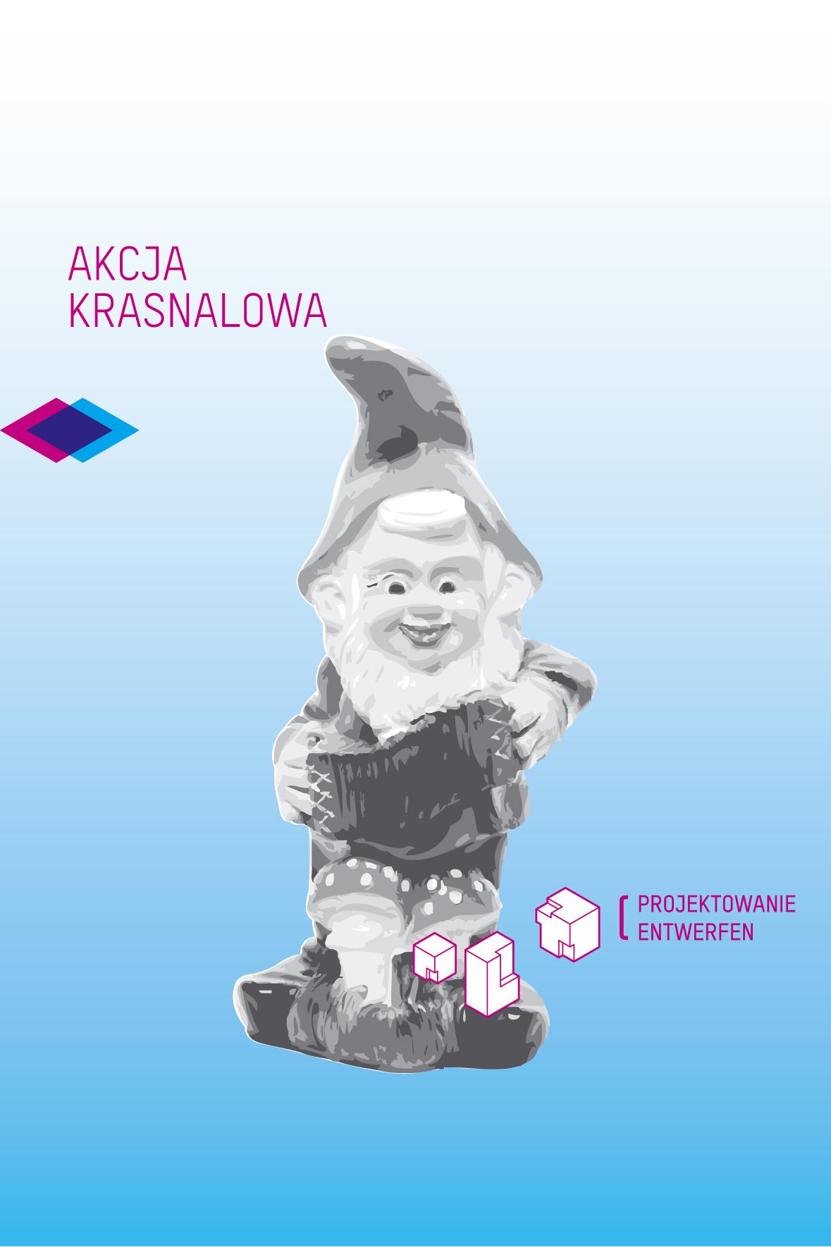 """""""Krasnal Pionowy"""", Polsko-Niemiecka Akcja Krasnalowa, Warszawa"""