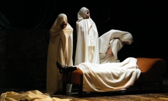 """""""Artaud. Sobowtór i jego teatr"""", fot. Maciej Kawiński"""