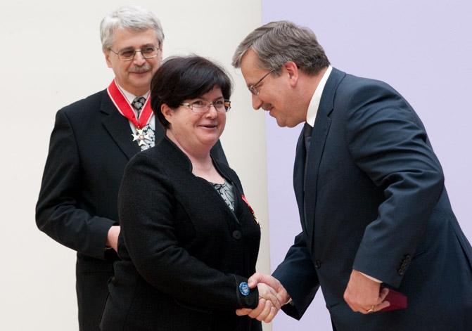 A. Gawron, J. Purchla, Prezydent RP Bronisław Komorowski, fot. P. Mazur