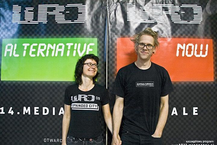 Biennale WRO 2011, incite - Kera Nagel and Andre Aspelmaier, photo by Alicja Kołodziejczyk (66)