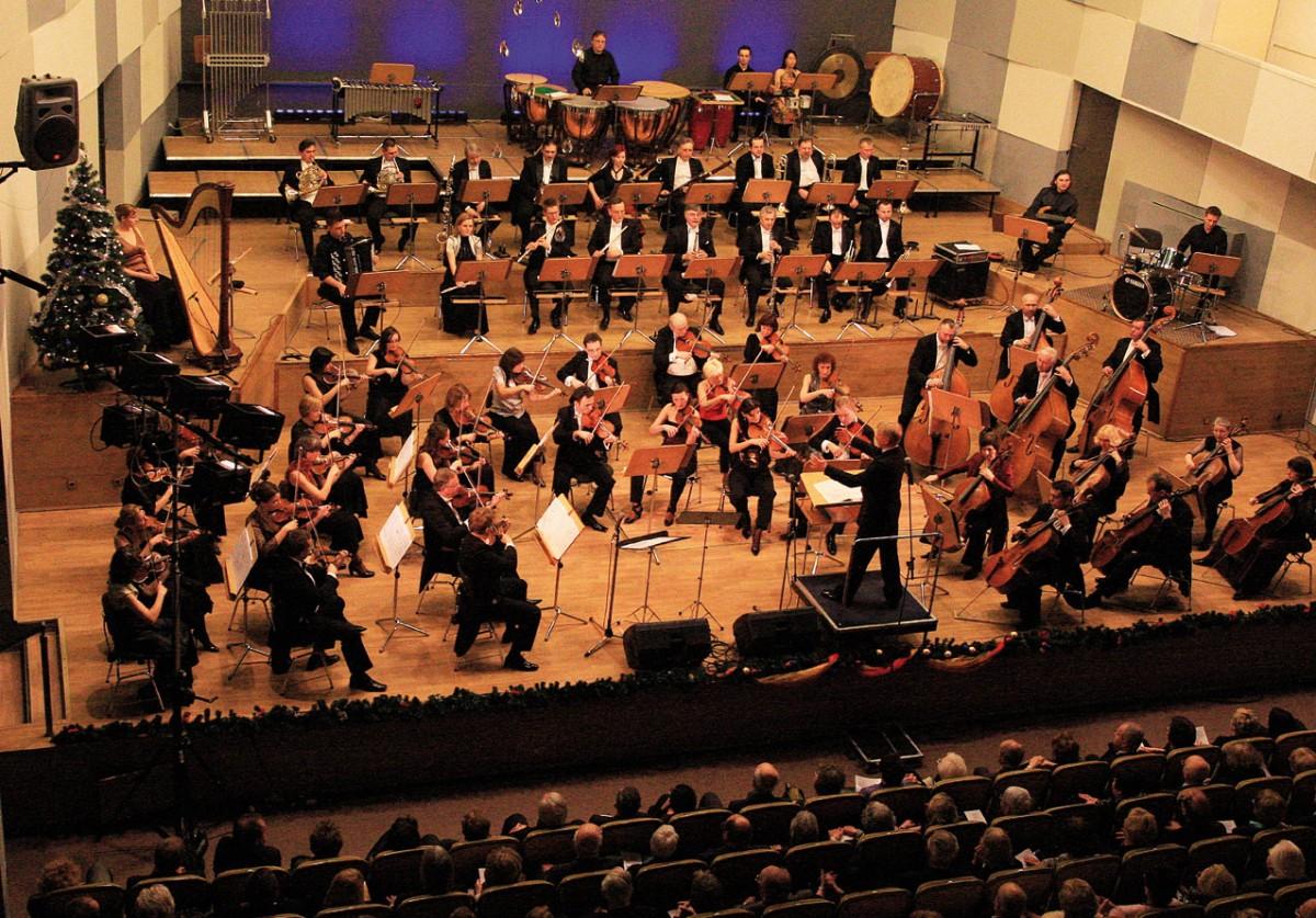 Orkiestra Symfoniczna Filharmonii Wrocławskiej (fot. Bogusław Beszłej)