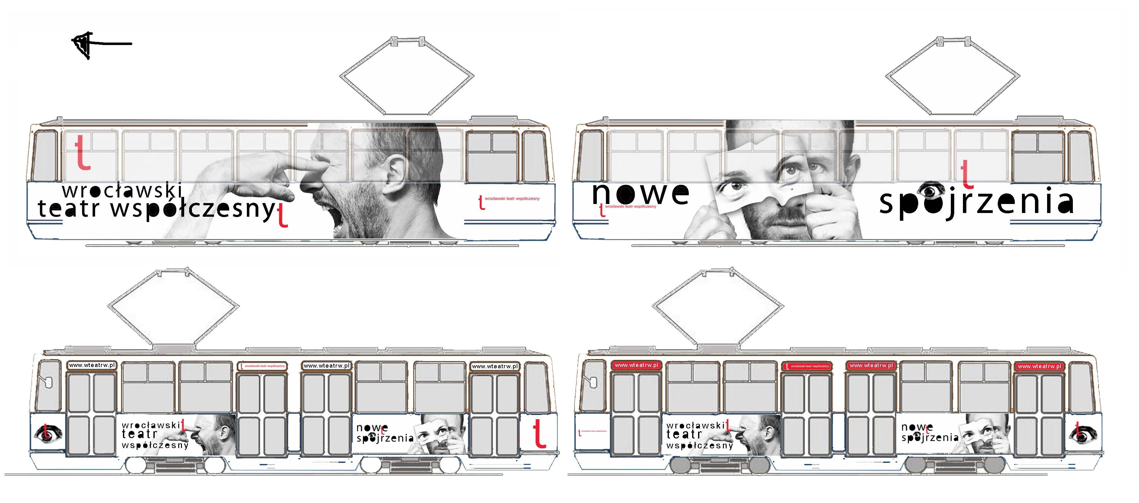 Grafika - tramwaj
