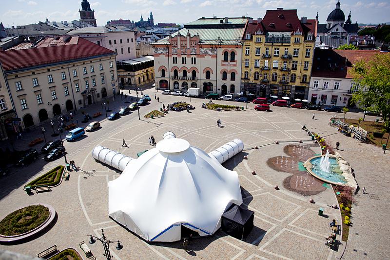 Pawilon Miłosza na Placu Szczepańskim, fot. Tomasz Wiech
