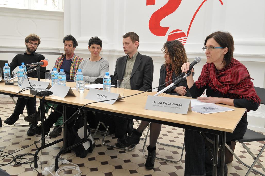 Konferencja prasowa 8 kwietnia 2011, materiały udostępnione przez Galerię Zachęta