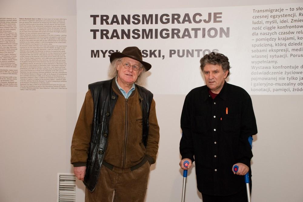 Tadeusz Mysłowski oraz Jani Konstantinovski Puntos, fot. Zofia Waligóra