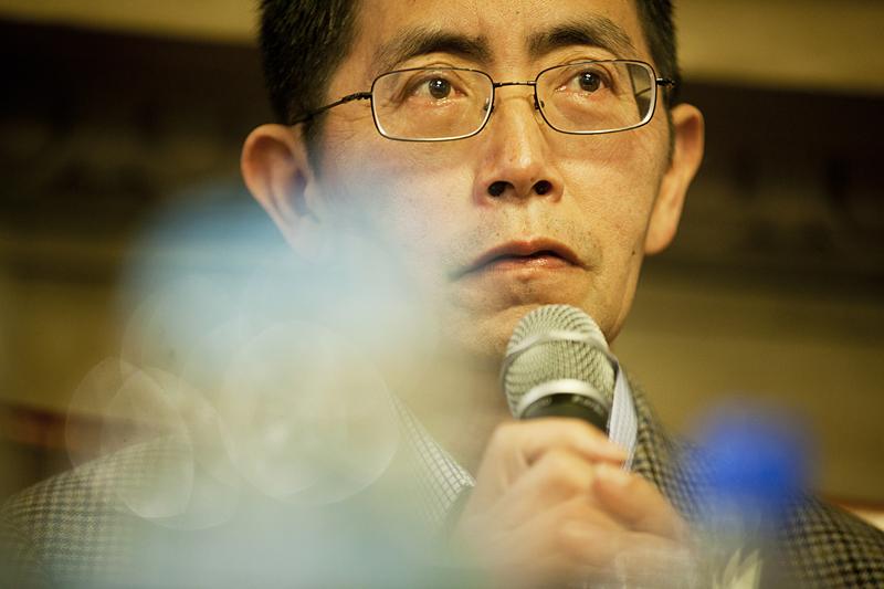 Spotkanie z Bei Dao, fot. Tomasz Wiech