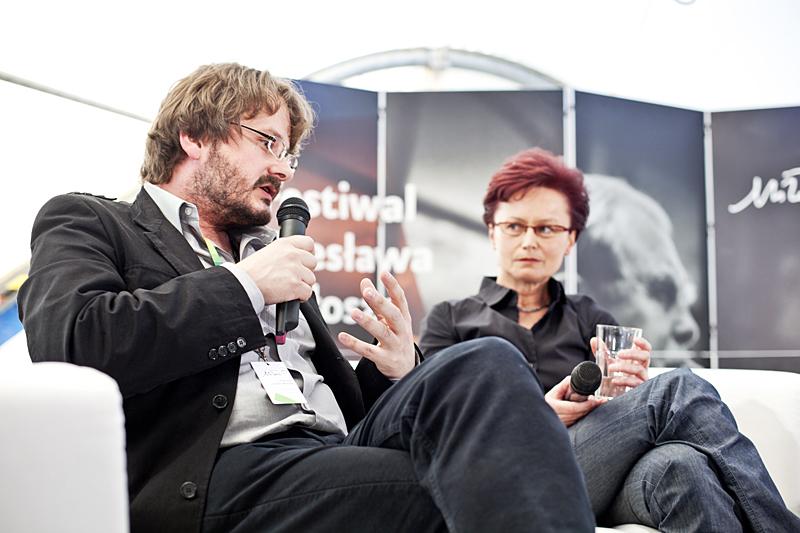 Spotkanie z Andrzejem Franaszkiem, fot. Tomasz Wiech