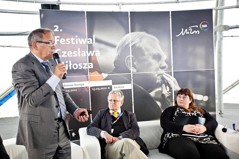 Inauguracja Festiwalu Czesława Miłosza, fot. Tomasz Wiech