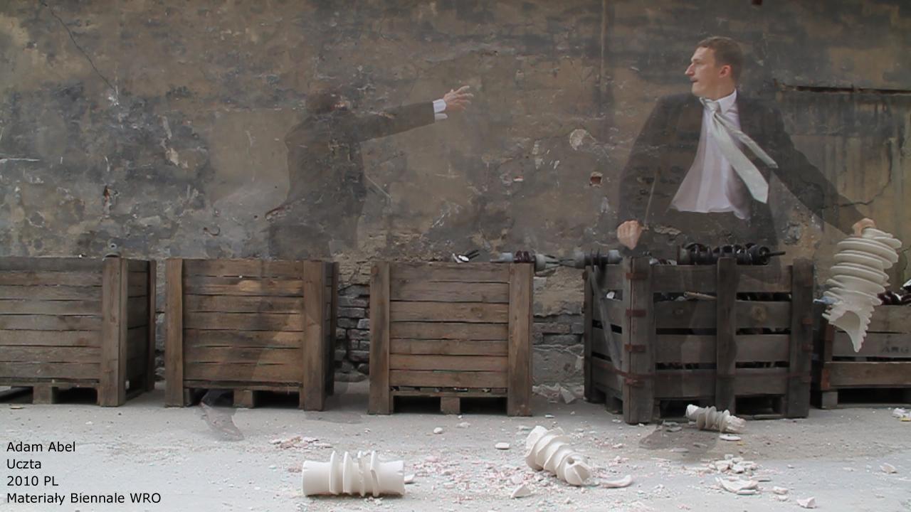 Adam Abel - Uczta, mat. Biennale WRO