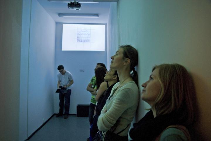 WRO 2011 Alternative Now, Piotr Bosacki, Sztaby i zegary, fot. Marcin Łuczkowski