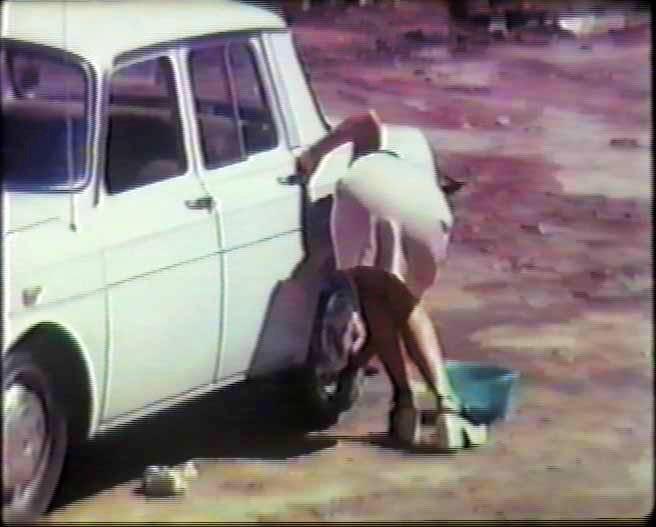 Od ekstazy do zachwytu. 50 lat innego kina hiszpańskiego. De purificatione automobolis (c) Gabriel Blanco, 1974